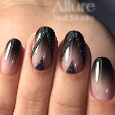 Black Manicure Designs 27 Ways To Black Nails Monotony Naildesignsjournal Com