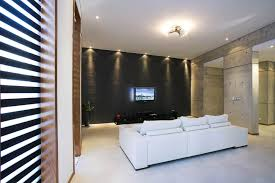 enchanting home theatre decorating ideas offer white fabric seat