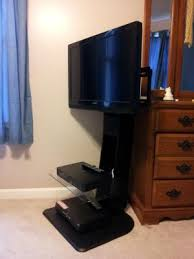 ameriwood home galaxy tv stand with mount for tvs up to 50