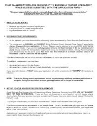 resume sle formats cv format for a driver cvdriver home delivery resume sle one