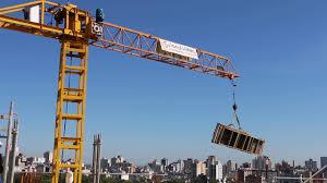 crane job height construction youtube