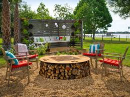 Backyard Campfire Backyard Fire Pit Ideas As Exterior Decoration