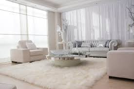 white living room setting in a modern home furnitureanddecors