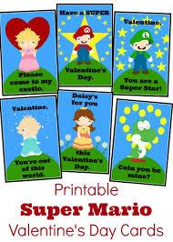 free printable super mario bros valentine u0027s cards meet penny