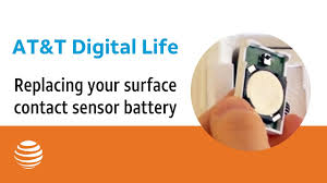 Contact by Replacing Your Surface Contact Sensor Battery At U0026t Digital Life