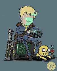 Vault Boy Meme - a vault boy and his dog by fernand0fc fallout pinterest