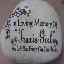 Engraved Garden Rocks Engraved Stones Rock Gardens Pet Memorials More
