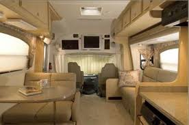 Mobile Home Curtains Leather Upholstery Overhead Cabinets Beige Paneling Curtains