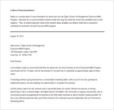 letters of recommendation u2013 20 free word excel pdf format