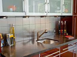 Pictures Of Backsplashes In Kitchens Metal Tile Backsplashes Pictures Ideas U0026 Tips From Hgtv Hgtv