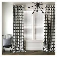 innovative curtains black and white and diy black white striped