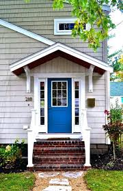 Small Awnings Over Doors Front Doors Outside Front Door Overhang Designs Tags Overhang