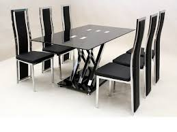 Dining Room Sets 6 Chairs by Black Dining Table Set Cheap Basements Ideas