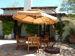 Netting For Patio by Outdoor Offset Patio Umbrella Costco For Your Patio Design Ideas