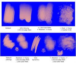 color smudge krita documentation