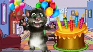 Happy Birthday Wishes In Songs Talking Tom Friends Happy Birthday Song Birthday Song Nursery