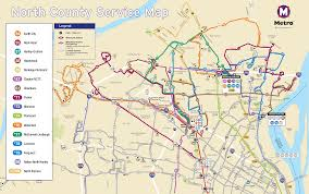 Map Metro Dc by Metro Releases New North County Service Plan Metro Transit U2013 St