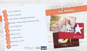 best place to get gift cards the top 5 gift cards for women gift card