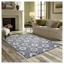 multi moroccan tile rug threshold target