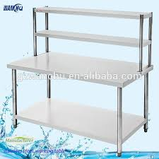 stainless steel table with shelves stainless steel kitchen work table malaysia best kitchen ideas 2017