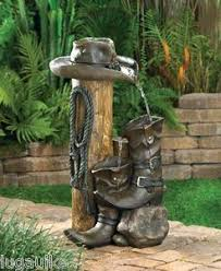Wild West Home Decor New Wild Western Water Fountain Cowboy Style Home Decor Water