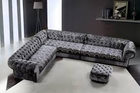 Fabric Sectional Sofas Divani Casa Metropolitan Transitional Fabric Sectional Sofa