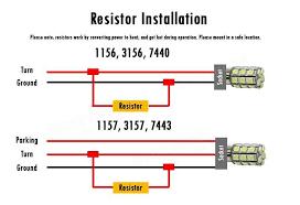 2 x 50w 8ohm led load resistors fix bulb fast hyper flash tail