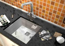 kitchen sink tile backsplash sinks and faucets gallery