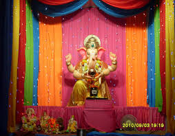 decoration themes for ganesh festival at home ganesh chaturthi decoration images for home ganesh chaturthi