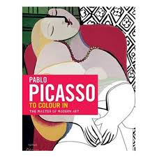 picasso the colouring book dominique foufelle u0026 frederique