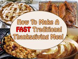 Traditional Thanksgiving Recipes Fast Shortcut Ideas For A Traditional Thanksgiving Brownie