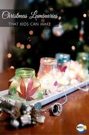 diy christmas luminaries kidz activities