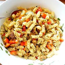 meatless monday vegan pasta salad vegan gretchen