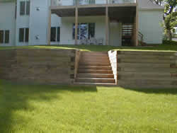 Retaining Walls NZ Building Code - Timber retaining wall design