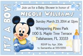 baby mickey baby shower baby mickey baby shower invitations diabetesmang info