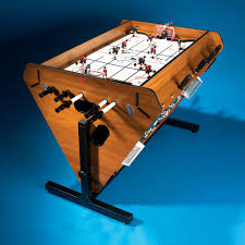 4 In 1 Game Table The Four In One Rotating Game Table Hammacher Schlemmer