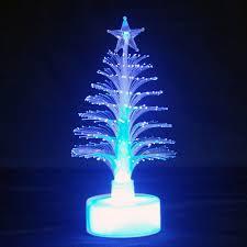 usb fibre optic tree lights decoration