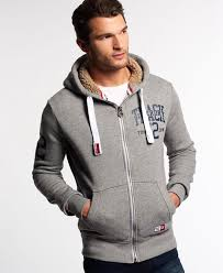 superdry trackster winter zip hoodie superdry men hoodies