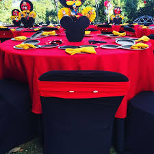 mickey mouse chair covers 13 best mickey mouse theme party images on theme