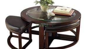 round table with chairs that fit underneath coffee tables with stools underneath amazing table glass intended