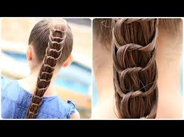 hairstylese com how to create a knotted ponytail cute hairstyles youtube