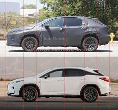 lexus lx rumors spy shots three row lexus rx prototype spotted in california