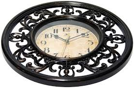 Silent Wall Clock Electronics Infinity Instruments Sofia 12 Inch Silent Sweep