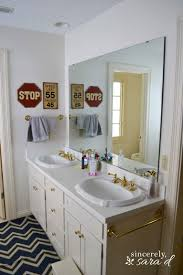 Painting Bathroom Ideas Painting Cabinets And Using Shortcuts Sincerely Sara D