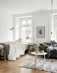 60 cool studio apartment with scandinavian style ideas on a budget
