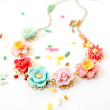 flower necklace images Colorful flower necklace for girls nest pretty things jpg