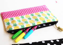 pencil pouch zipper pencil pouch diy sewing tutorial by positively splendid