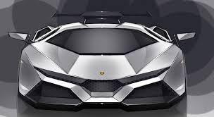 lamborghini concept car frontal view of the lamborghini cnossus concept car note the