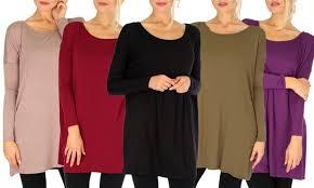 lyss loo s tunic dress with free pair of fleece