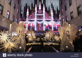 saks fifth avenue lights new york new york december 25 a vibrant light show at saks fifth
